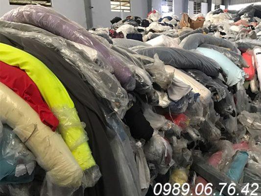 kho chứa vải cây thanh lý