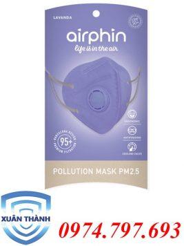 khẩu trang Airphin dành cho người lớn màu tím